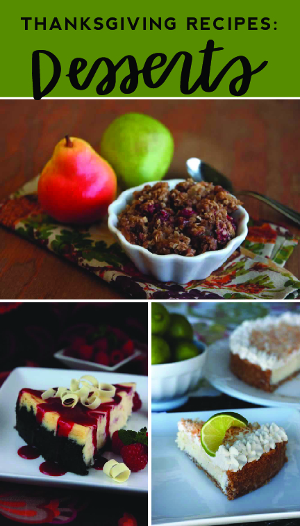 You will love these Thanksgiving dessert recipes from LDS Living!