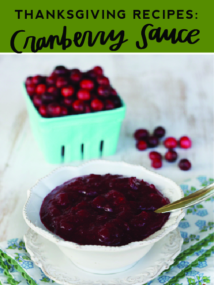 You will love these Thanksgiving cranberry sauce recipes from LDS Living!