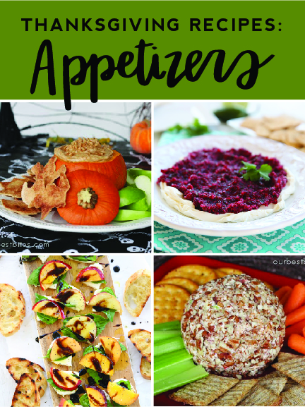 Thanksgiving Recipes: Appetizers