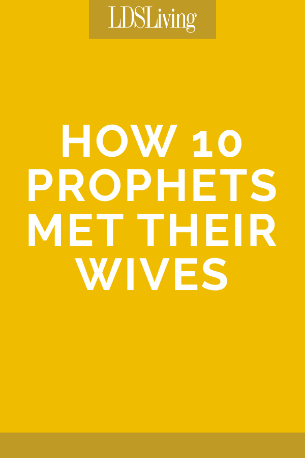 How 10 Prophets Met Their Wives