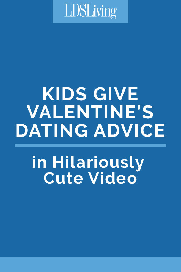 Hilariously Cute Video: Kids Give Valentine's Dating Advice