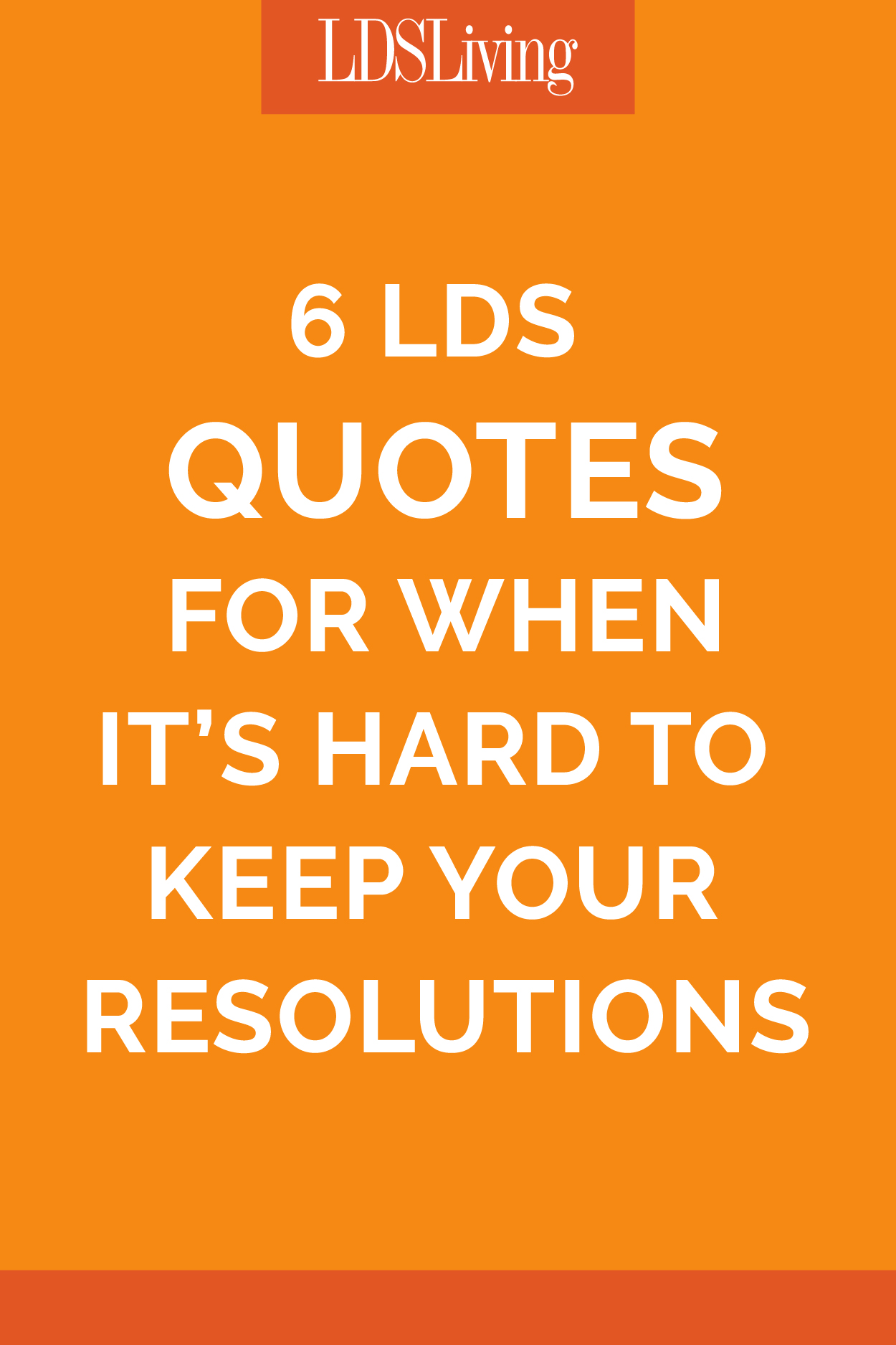 7 Quotes for When it's Hard to Keep Your Resolutions