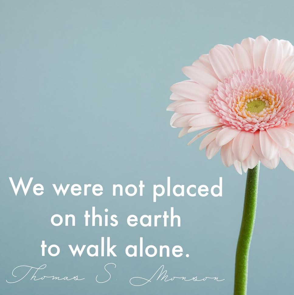 Mormon Quotes 6 Lds Quotes For When You Feel Alone  Lds Living