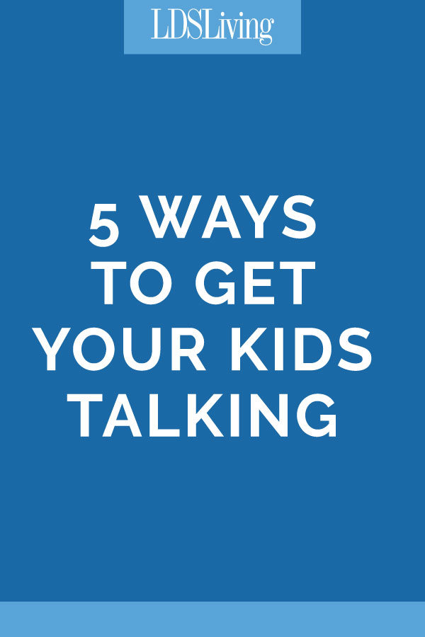 Here are some ideas to help conversation and communication become easier and more productive. With simple ways to help kids open up, your relationships can become better, you can be alerted to situations that need special attention, and your kids can feel confident in your love.