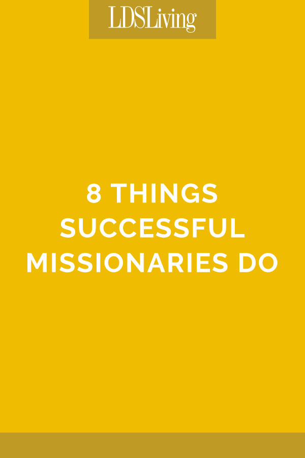 A mission is a lot of work! And missionaries need the support of those at home. Sometimes when they're struggling, they just need a reminder of what defines true success in the mission field.
