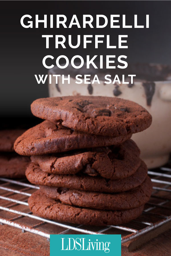 Recipe: Ghirardelli Truffle Cookies with Sea Salt