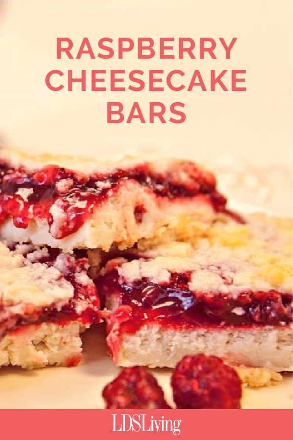 Raspberry Cheesecake Bar Recipe