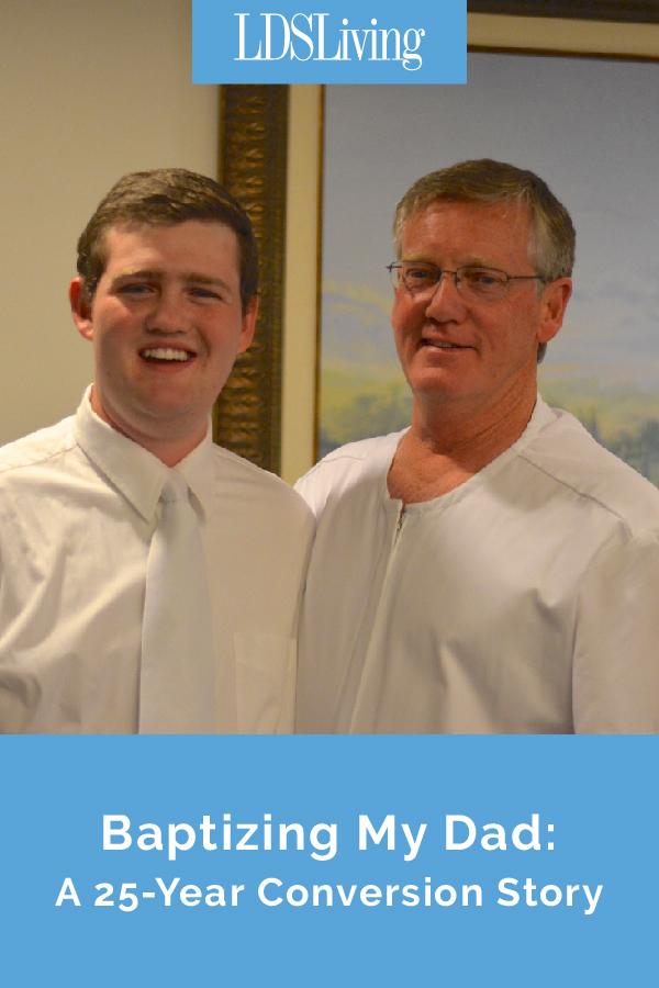 Baptizing My Dad: A 25-Year Conversion Story