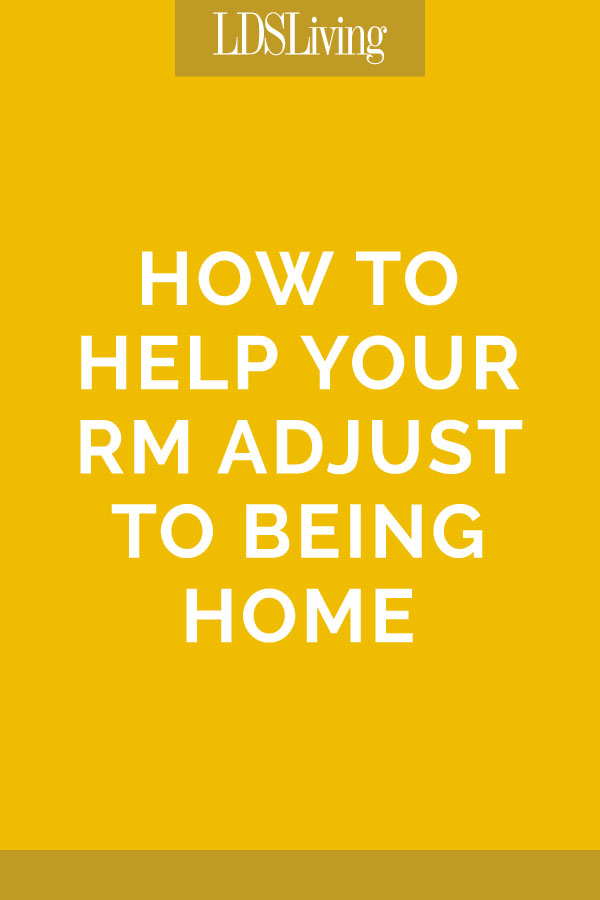 How to Help Your RM Adjust to Being Home