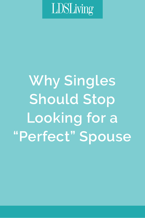 Why Singles Should Stop Looking for a