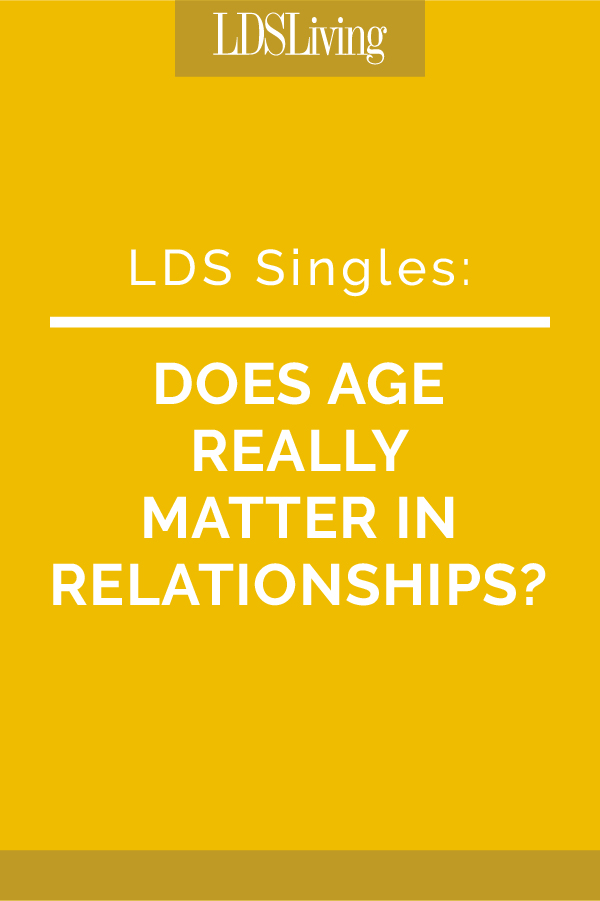 Does Age Really Matter in Relationships?