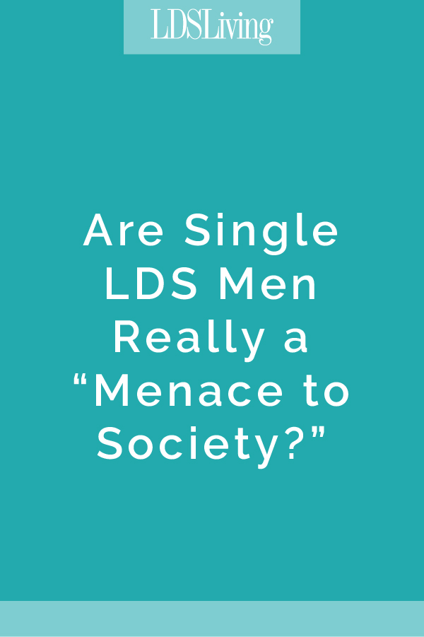 Are Single LDS Men Really A