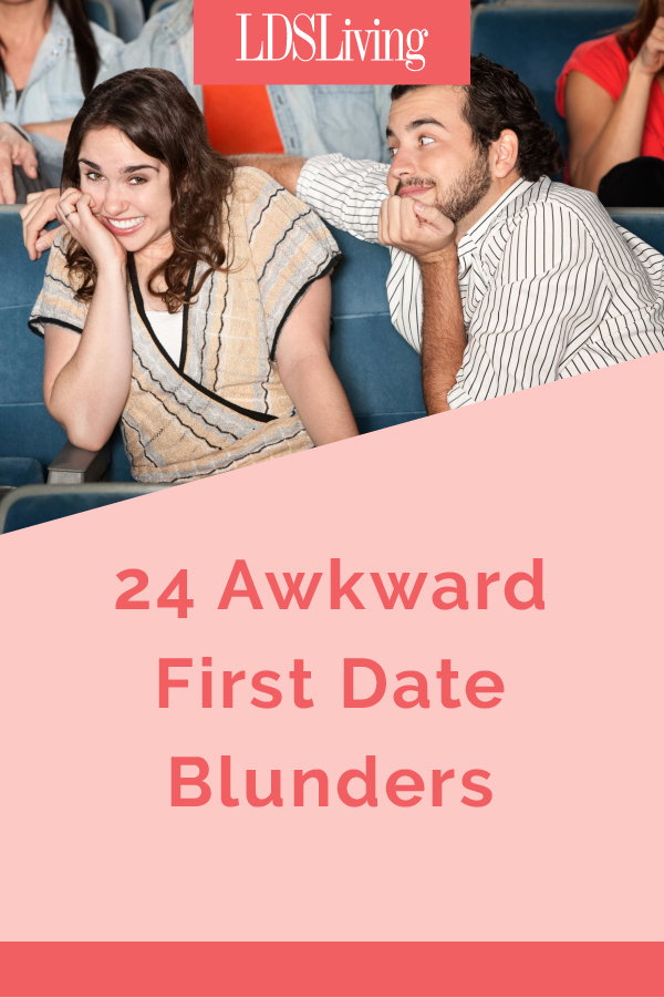 the blunders of my first date