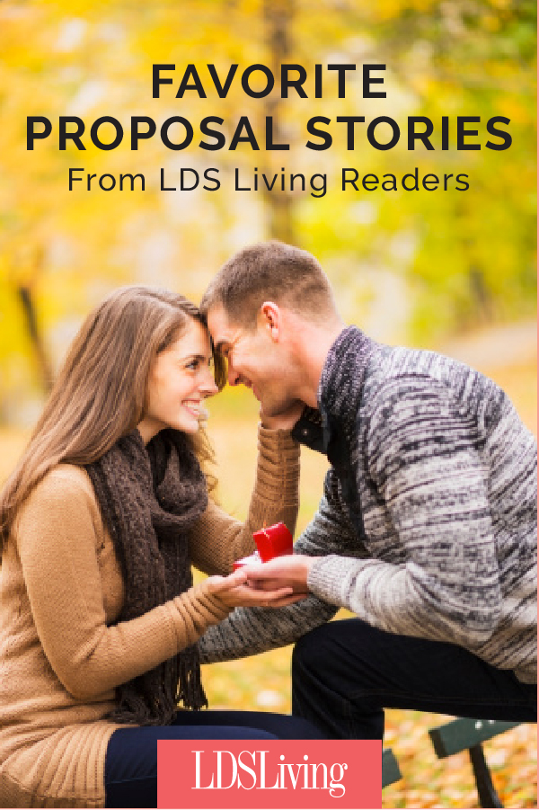 Favorite Proposal Stories from LDS Living Readers