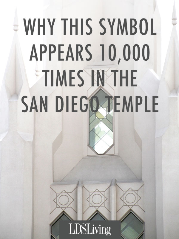 Why This Symbol Appears 10,000 Times in the San Diego Temple