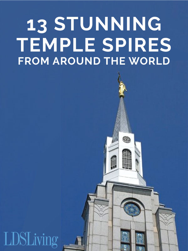 Every temple has its own unique, beautiful details in its architecture. Check out some of these stunning temple spires from around the world.
