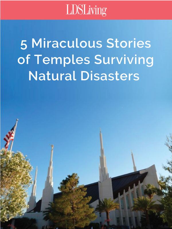 Temples are built not only to be beautiful but also to be long-lasting. And despite natural disasters from tornadoes to lightning and hurricanes, many of these houses of the Lord have weathered the storm and still stand as beacons today.