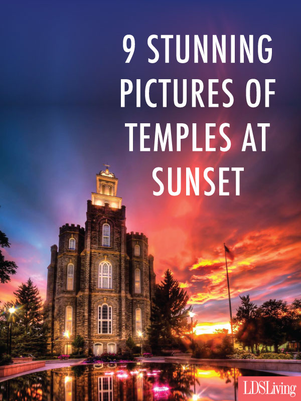 9 Stunning Pictures of Temples at Sunset