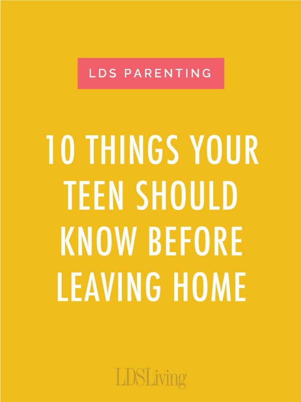 We know parents love their kids and would probably do anything for them. Doing everything for them, though, might make it difficult for your teens to use their own wings when they leave the nest.