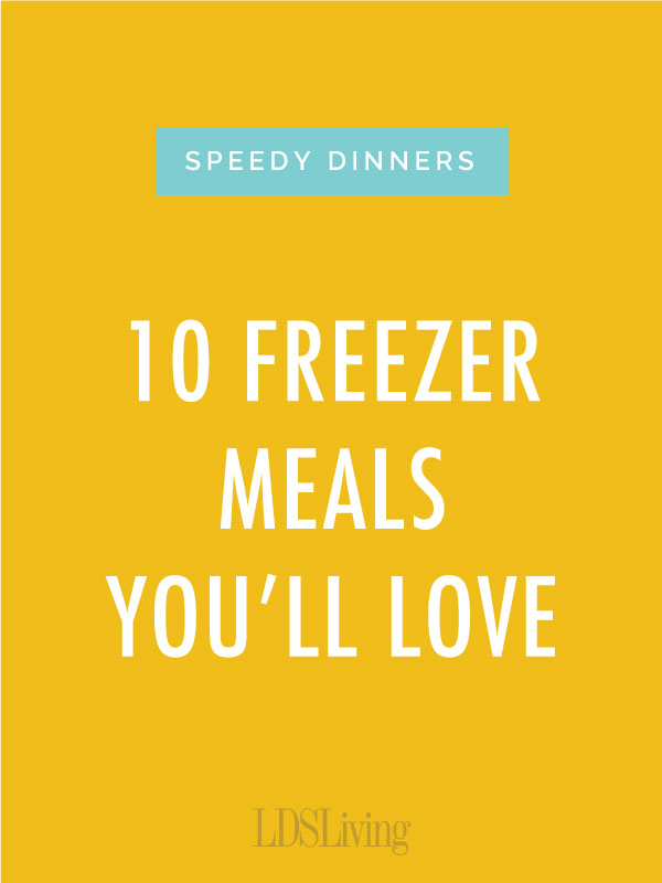 Taking a few extra minutes to throw together one of these freezer meals could save you hours later on. Check out these quick and delicious recipes that we just love!