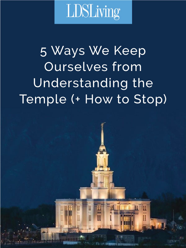 The temple has often been called the Lord's university. Clearly, the Lord intends the temple to be a house of learning—one we should attend often.