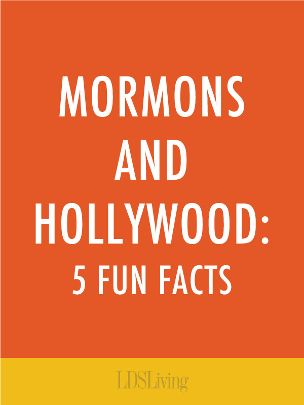 The history of Mormons and Hollywood is more exciting and far-reaching than most people realize. Check out these five ways Church members have left their mark in television and on the silver screen.