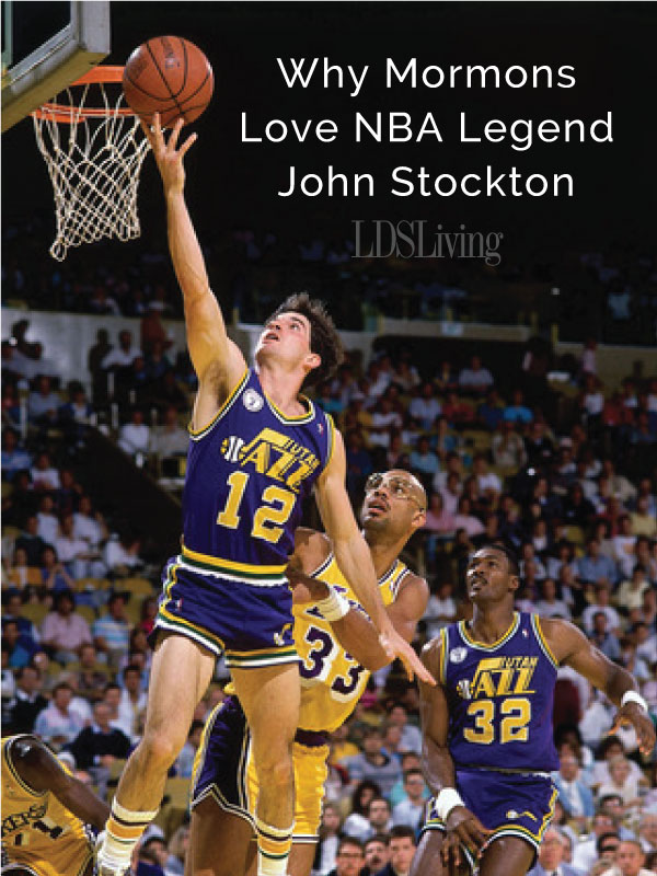 Why Mormons Love NBA Legend John Stockton