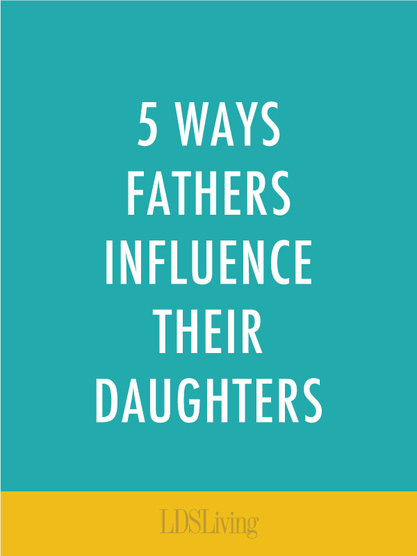 A father's relationship with his daughter can significantly impact her throughout her life. Here are 5 ways Dad can influence his girl and help her to become a confident, happy, successful woman.