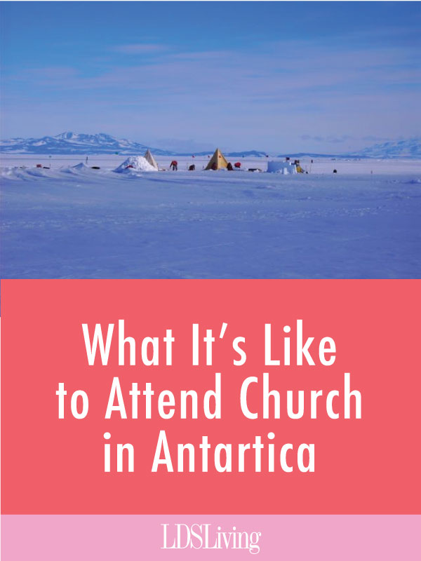 You read that right! The Church of Jesus Christ of Latter-day Saints has spread so far that it even has a presence in the polar desert of Antarctica. Read more about what the Saints are doing to spread the gospel in the most unlikely of places.