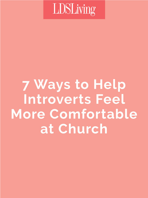 In a church with testimony meetings, public praying, Relief Society and Priesthood activities, and all sorts of social gatherings, sometimes we lose those who are a little less outgoing. Find out what we can do for introverted people in the Church.