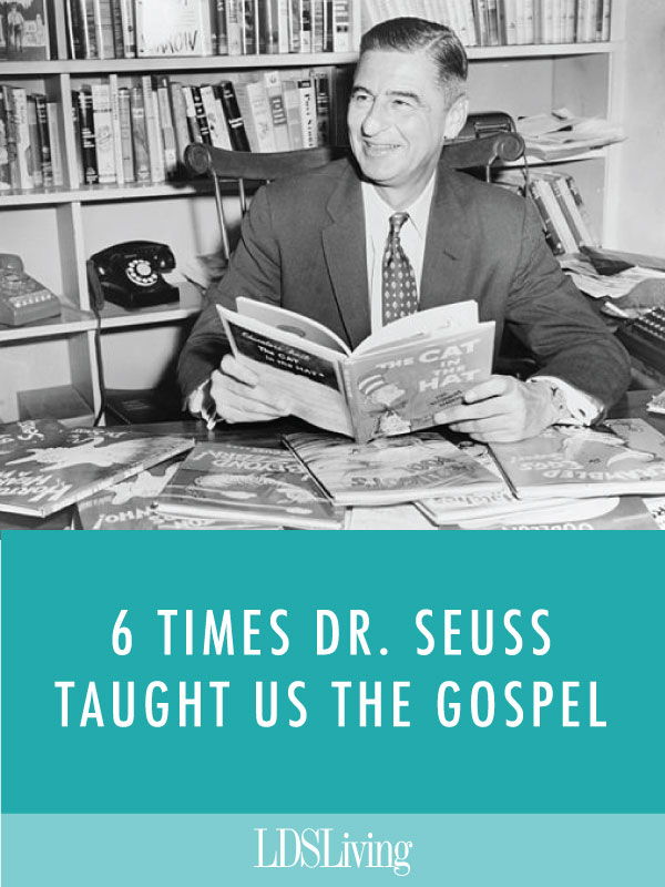 Adults and children alike are familiar with the humorous, inventive words of Dr. Seuss, but beneath the humor there are a surprising number of gospel truths to be found.