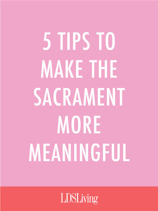 Having a hard time staying focused on the Savior during the sacrament? Try using these amazing ideas from the writings of beloved religious scholar Truman G. Madsen.