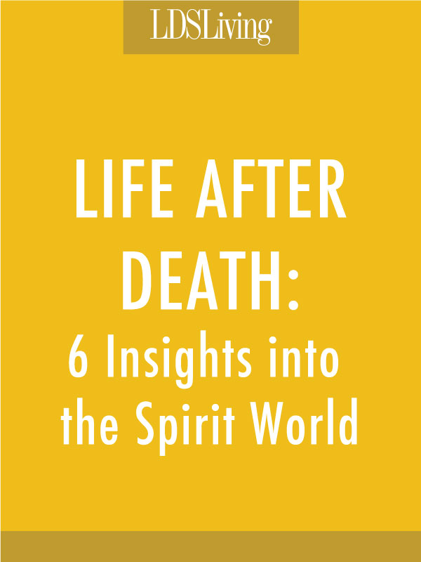 Life after death 6 insights into the spirit world lds living the restored gospel reveals many truths about life after death here are a few more fandeluxe Images