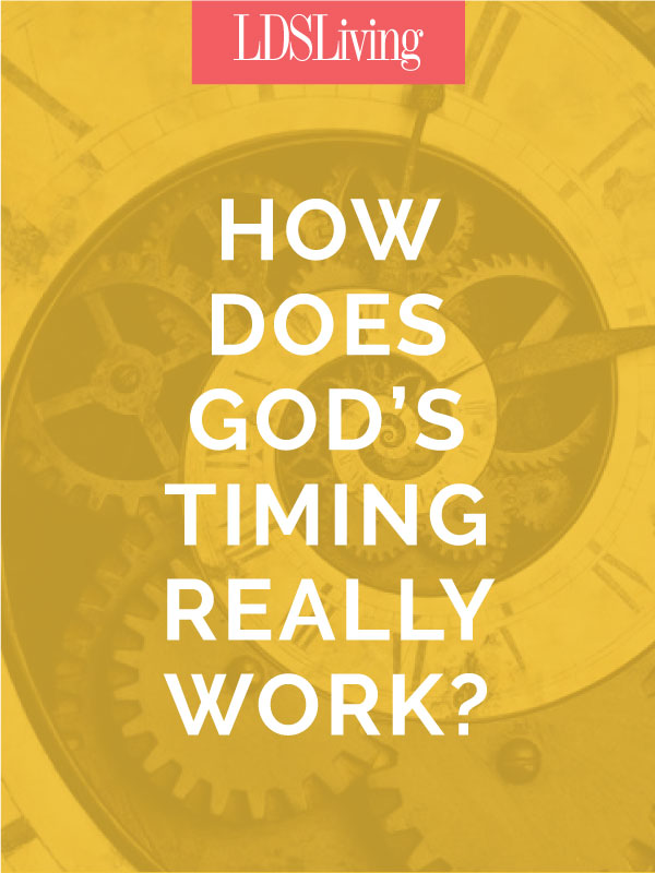Whether one is a physicist or a cinematic junkie, every soul has a desire, even a thirst, to find a place in this baffling concept we call time. Learn more about how our time relates to that of God's time.