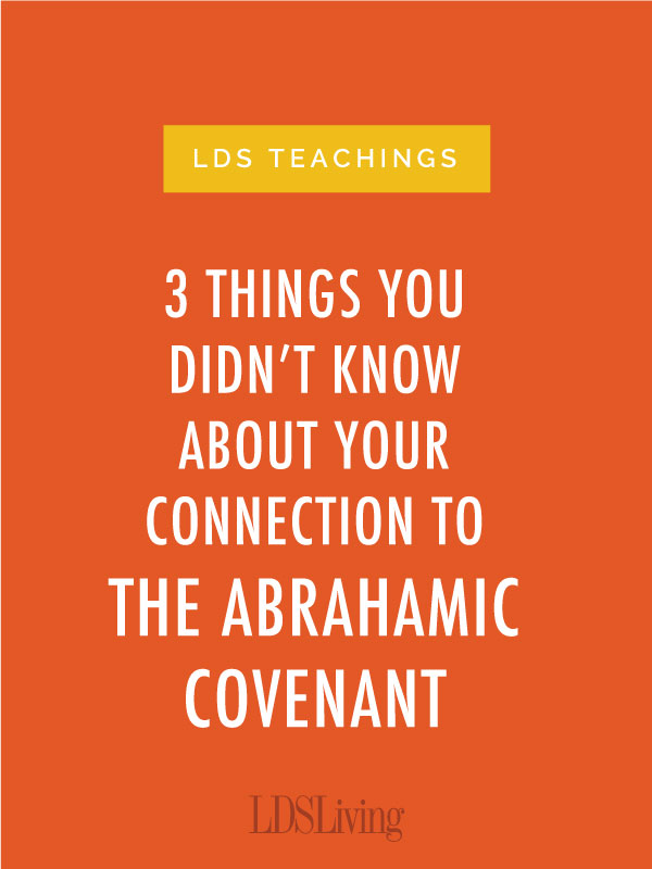 There is more to the Abrahamic Covenant than most people think.