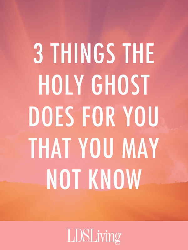 We've all heard countless lessons, talks, and conference addresses on the importance of the Holy Ghost in our lives, and we can easily reel off a list of the amazing ways He can bless us. But there are aspects of the Holy Ghost that are commonly overlooked or forgotten.