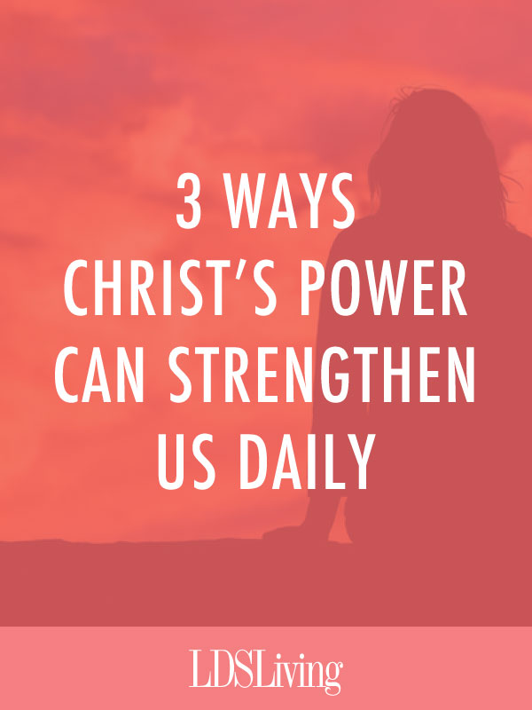 While our daily challenges may vary in type, intensity, and frequency, there seem to be three general areas in which we can seek and receive divine help in our lives.