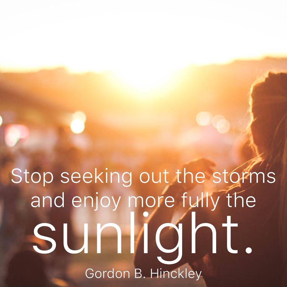 9 LDS Quotes for When You're Feeling Down