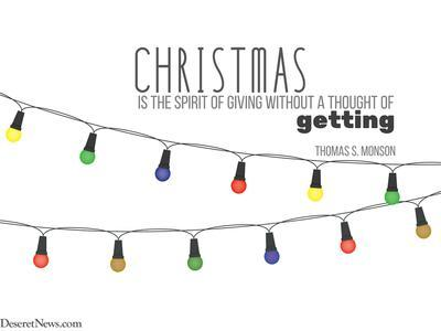 Lds Christmas Quotes.26 Christmas Quotes From Church Leaders That Will Bring